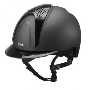 Kask E-LIGHT MATT - 2 INSERTI NERI SHINE - KEP Italia +Wkładka