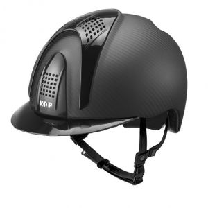 Kask E-LIGHT MATT - 3 SHINE BLACK INSERTS - KEP Italia + Wkład