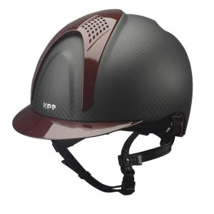Kask E-LIGHT MATT - 2 BORDEAUX INSERTS - KEP Italia +Wkładka