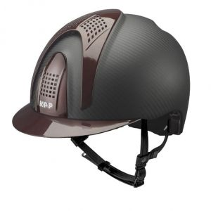 Kask E-LIGHT MATT - 3 BURGUNDY INSERTS - KEP Italia +Wkładka