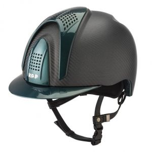 Kask E-LIGHT MATT - 3 GREEN INSERTS - KEP Italia +Wkładka