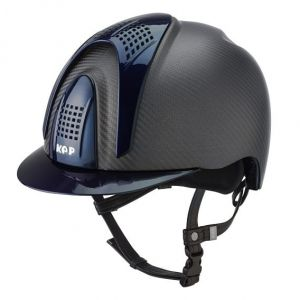 Kask E-LIGHT MATT - 3 BLUE INSERTS - KEP Italia +Wkładka