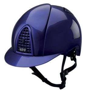 Kask CROMO FULL METAL ELECTRIC BLUE -KEP Italia + Wkład